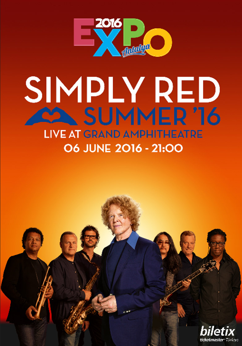 Simpley Red Poster Eng